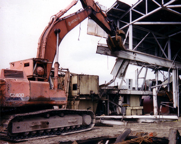 Bodine Mfg. All Pro Universal Scrap Hydraulic Bucket Thumb, Scrap Yard and Demoliton Recycling, APUT HYD