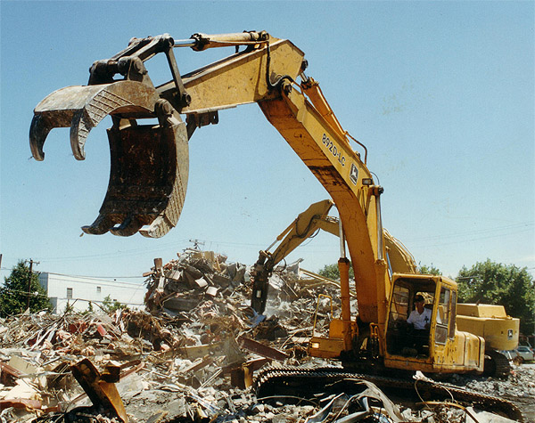 Bodine Mfg. All Pro Heavy Duty Demoltion Grapple, Scrap Yard and Demoliton Recycling, HDDM